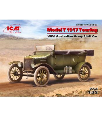 1:35 Щабен автомобил Модел T 1917 Touring от Първа световна война на Австралийската армия (Model T 1917 Touring, WWI Australian Army Staff Car)