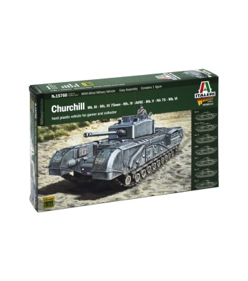 1:56 Британски танк Чърчил Мк. III/IV/AVRE/NA75 (CHURCHILL Mk.III/IV/AVRE/NA75)