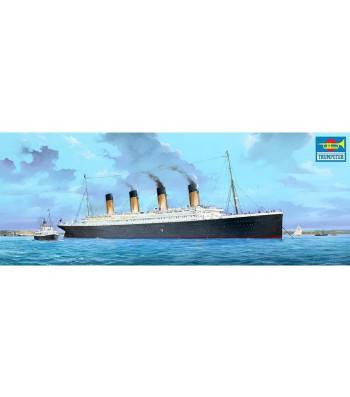 1:200 Сглобяем модел на британския лайнер Титаник с LED светлини (R.M.S. Titanic w/LED Lights)