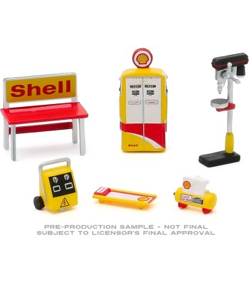 Auto Body Shop - Shop Tool Accessories Series 3 - Shell Oil Solid Pack