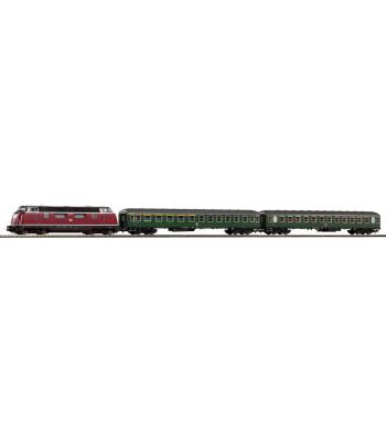 Стартов сет BR 220 w 2 Express Coaches, DBAG, епоха IV