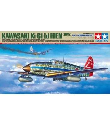 1:48 Японски изтребител Kawasaki Ki-61-Id Hien - 1 фигура