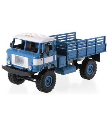 1:16 Радиоуправляем камион Army Truck WPL B-24 4x4 2.4GHz RTR - Blue