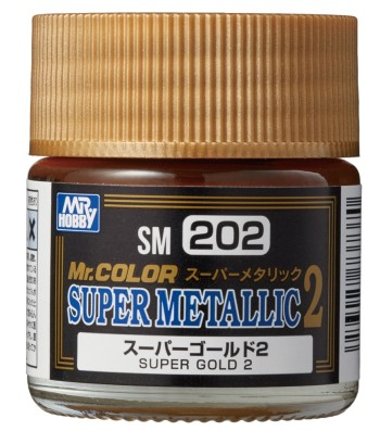 SM-203 Mr. Color Super Metallic 2 - Super Gold 2 (10ml)