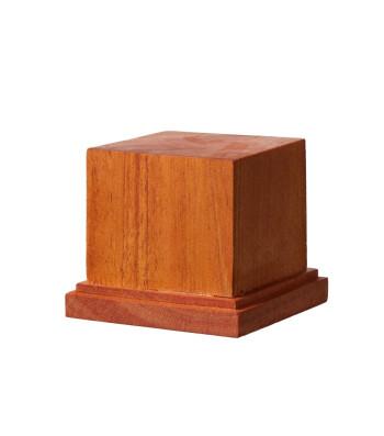 DB-002 Квадратна дървена основа за модел M 60 x 60 x H50 mm / постамент 49 x 49 mm