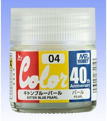 AVC-04 Mr. Color 40th Anniversary Edition Kitten Blue Pearl (10ml)