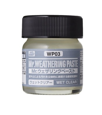 WP-03 Weathering Paste Wet Clear (40ml)