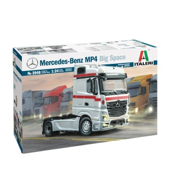 1:24 Камион влекач MERCEDES BENZ MP4 BIG SPACE
