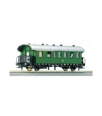 """Пътнически вагон 1-ва/2-ра класа """"Donnerbüchse"""" на DBAG, епоха III"""