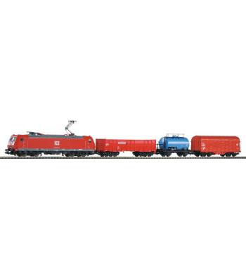 PIKO SmartControl комплект товарен влак с локомотив BR 185 и 3 вагона