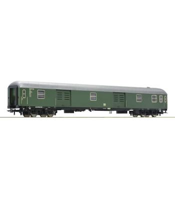 Express train luggage cart, type D4üm, the German Federal Railways, epoch III