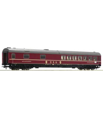 Express train dining car, type WR4üm-64, the Deutsche Bundesbahn, epoch III