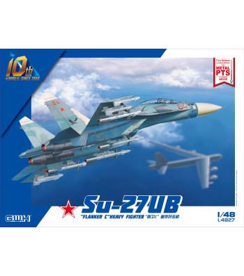 "1:48 Руски многоцелеви изтребител Su-27UB ""Flanker C"" Heavy Fighter"