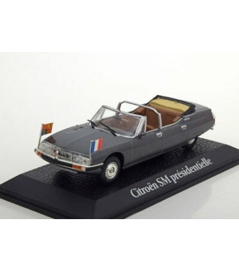 Presidential Citroen SM, Royal Tour Georges Pompidou, 1972