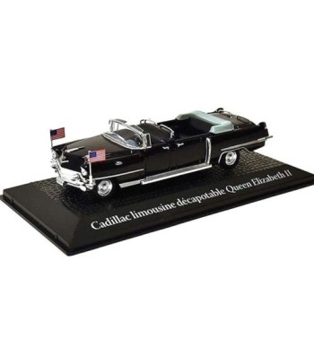 Cadillac convertible limousine Queen Elizabeth II, travel to Paris Dwight D. Eisenhower, 1959