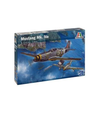 1:48 Британски изтребител MUSTANG Mk. IVa (P-51D)