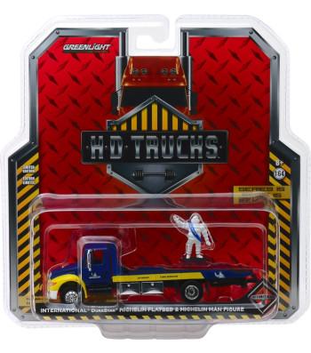 2013 International Durastar Flatbed - Michelin Service Center with Michelin Man Figure Solid Pack - H.D. Trucks Series 15