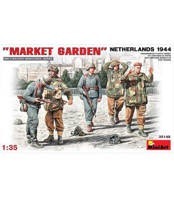 """1:35 """"Маркет Гардън"""" Холандия 1944 - 5 фигури"""
