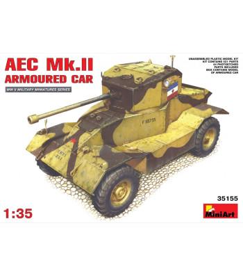 1:35 Британска Бронирана Кола AEC Mk 2