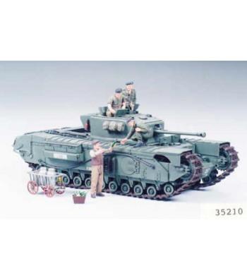 1:35 Британски пехотен танк Чърчил Mk.VII (British Infantry Tank Mk.IV Churchill Mk.VII) - 6 фигури