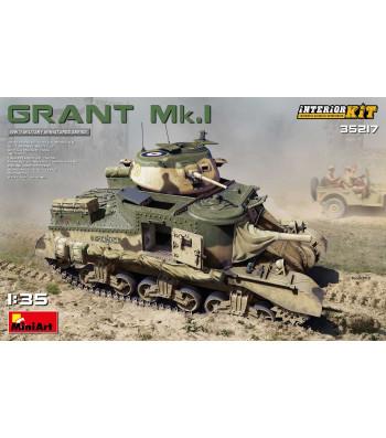 1:35 Grant Mk.I Interior Kit