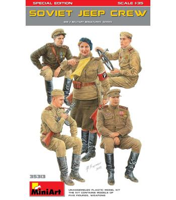 1:35 Съветски Екипаж на Джип - Специално Издание