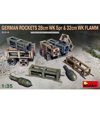 1:35 Немски 280мм. и 320мм. Ракети