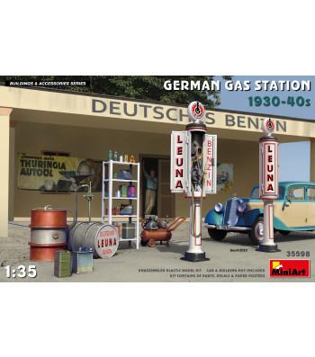 1:35 German Gas Station 1930-40s