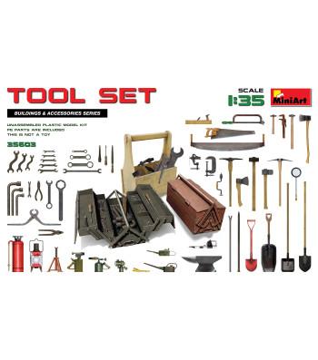 1:35 Комплект Инструменти