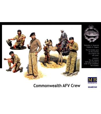 1:35 Eкипаж на бронираната бойна машина от Обединеното кралство  - 6 фигури