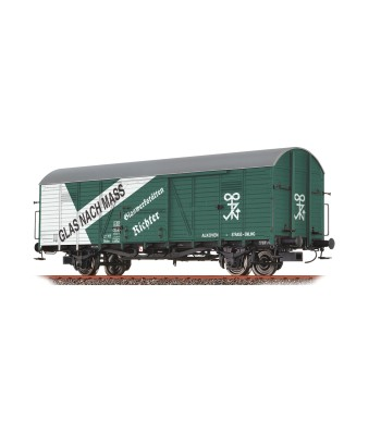"H0 Покрит товарен вагон ""Glaswerke"" на ÖBB, епоха III"