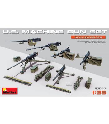 1:35 Комплект американски картечници, с фотоецвани части (U.S. Machine Gun Set)