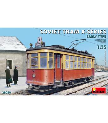 1:35 Съветски Трамвай Х-Серия - Ранна Версия