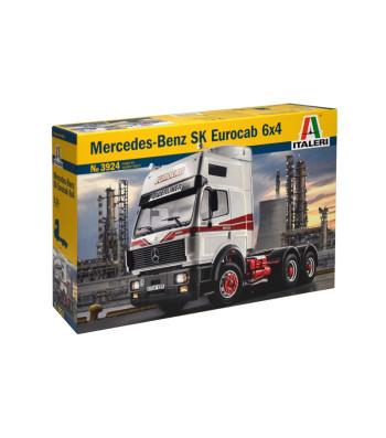 1:24 Камион влекач MERCEDES BENZ SK EUROCAB 6x4