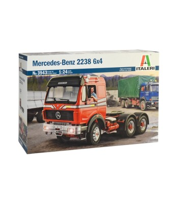 1:24 Камион MERCEDES BENZ 2238 6x4