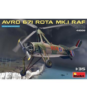 1:35 Avro 671 Rota Mk.I RAF