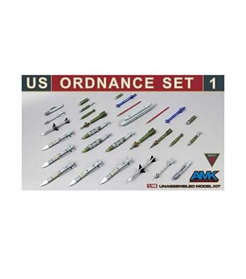 1:48 Комплект # 1 Американски боеприпаси за артилерията (US Ordnance Set # 1 (New Release))