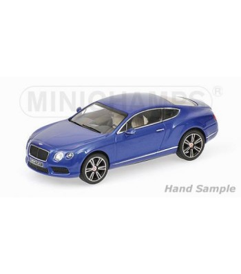 BENTLEY CONTINENTAL GT V8 - 2011 - BLUE METALLIC
