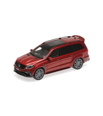 BRABUS 850 WIDESTAR XL BASED ON MERCEDES-AMG GLS 63 - 2017 - RED METALLIC