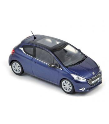 Peugeot 208 2012 3 doors virtual blue