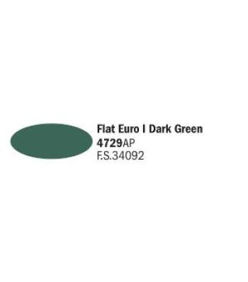 Flat Euro I Dark Green - Акрилна боя за моделизъм (20 ml)