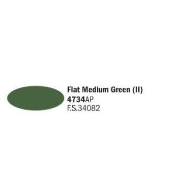 Flat Medium Green (II) - Акрилна боя за моделизъм (20 ml)