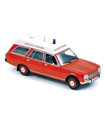 PEUGEOT 504 Break 1979 - Pompiers Ambulance