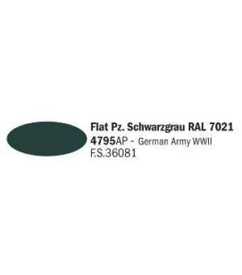 Flat Pz. Schwarzgrau RAL 7021 - Акрилна боя за моделизъм (20 ml)
