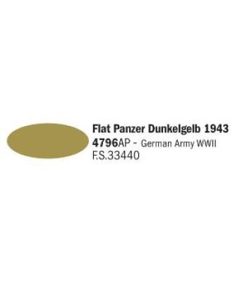 Flat Panzer Dunkelgelb 1943 - Акрилна боя за моделизъм (20 ml)