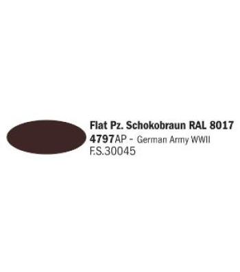 Flat Pz. Schokobraun RAL 8017 - Акрилна боя за моделизъм (20 ml)