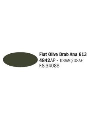 Flat Olive Drab Ana 613 - Акрилна боя за моделизъм (20 ml)
