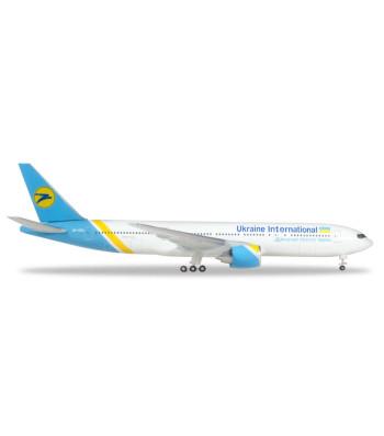 UKRAINE INTERNATIONAL AIRLINES BOEING 777-200 - UR-GOA, BLUE BOX