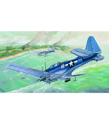 "1:32 Бомбардировач на САЩ SBD-5/A-24B ""Dauntless"" Втора световна война"