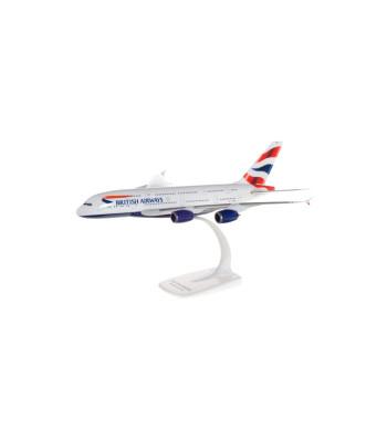 1:250 British Airways Airbus A380 - сглобка без лепило